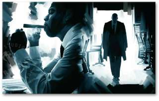 JAY Z American Gangster Original CANVAS ART PAINTING