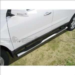 Black Horse Stainless Steel Oval Nerf Bars 08 11 Buick