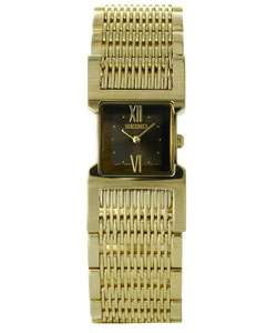 Seiko Tressia Goldtone Stainless Steel Watch