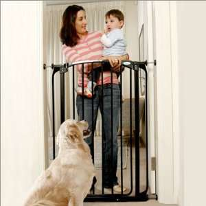 Dream Baby Extra Tall Security Gate In Black With 2 Free