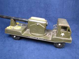 Nylint N 2400 Electronic Cannon Pressed Steel Toy Truck