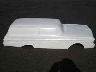 Delivery pedal car hot rod stroller 1/4 scale fiberglass body
