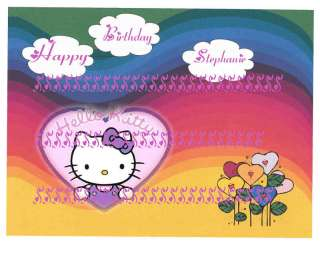 HELLO KITTY EDIBLE CAKE TOPPER DECORATION clik2c all