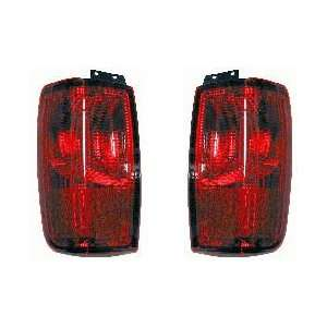 Lincoln Navigator Tail Lights Red Taillights 1998 1999 2000 2001 2002
