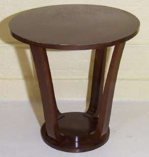 Antique Austrian Art Deco Bentwood Side End Table