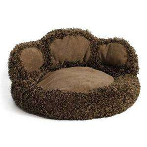 Shaped Pet Dog Cat Bed Chocolate 21 x 21 x 9.5 027773015345
