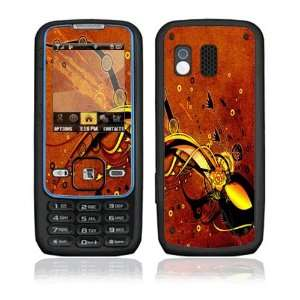 Orange Rose Decorative Skin Cover Decal Sticker for Samsung Rant SPH