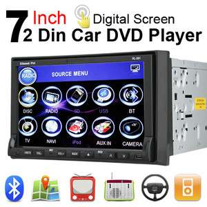 Car Stereo CD VCD DVD  Player In Dash Double Din