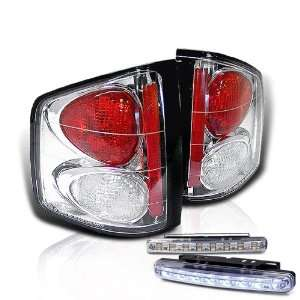 94 04 Chevy S10 / GMC Sonoma Tail Lights + LED Bumper Fog Brand New