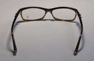 NEW CHROME HEARTS BEARDED BABY 56 14 132 BRAND NAME BROWN EYEGLASS