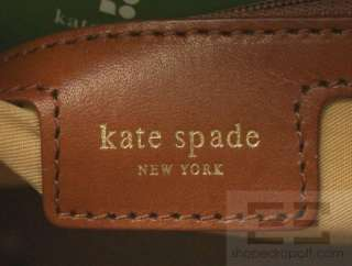 Kate Spade Black & Brown Leather Ingrid Veradero Tote Bag