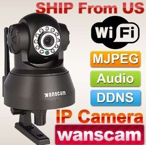 Security Network Wireless IP Camera Motion Detection Night Vision 2Way