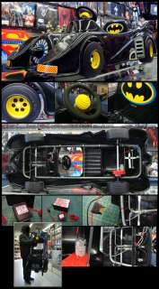 Batmobile Battery Powered Electric Ride On Kids Vintage Batman Toys