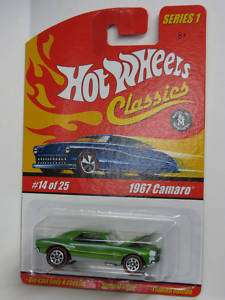 Hot Wheels Classics 1967 Camaro Painted Engine Vari.