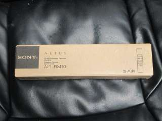 NEW Sony S AIR Altus AIR RM10 Wireless Remote Control / Commander