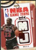 2008/09 Upper Deck Hot Prospects NBA Game Issue Jerseys Red Michael