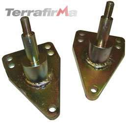 Terrafirma rear shock mounts for Land Rover Defender 90