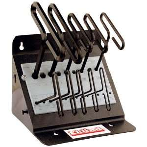 EKLIND Long Reach T Handle Hex Key Set   Model 30190 Size Range 3/32