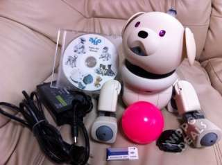SONY AIBO LATTE ROBOT PET ERS311 ERS 311+DOGS LIFE+BATTERY RUNS ABOUT