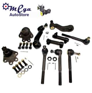 SUSPENSION STEERING PARTS LOWER BALL JOINTS ENDS INNER OUTER TIE ROD