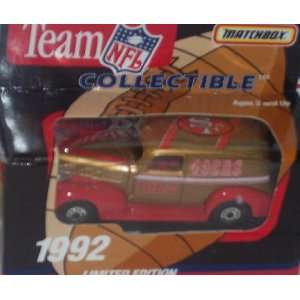 San Francisco 49ers 1992 NFL 1/64 Diecast Sedan Collectible Limited