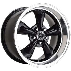 American Racing Torq Thrust MS (Gloss Black w/ Machined Lip) Wheels