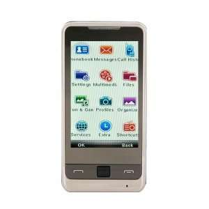 D6000 Quad band FM Touch Screen Dual Sim Standby Bar Cell