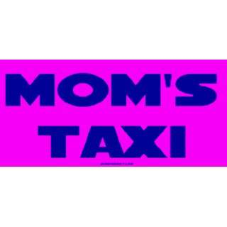Moms Taxi Large Bumper Sticker Automotive