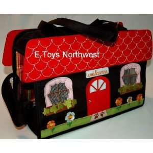 Gigi Olivia House Shaped Dog Carrier