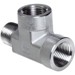 Parker Stainless Steel 316 Pipe Fitting, Branch Tee, 1/2 NPT Female x
