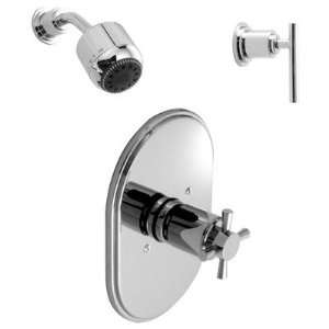 Kit 01 Finish Polished Chrome, Handle Type Lever
