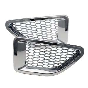 Rover Range Sport 06 10 Side Fender Vent Cover   Chrome Automotive