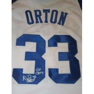 Daniel Orton Signed Autographed Jersey Kentucky Wildcats Authentic