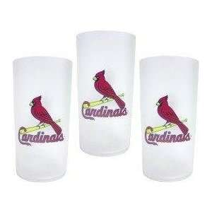 Louis Cardinals MLB Tumbler Drinkware Set (3 Pack)
