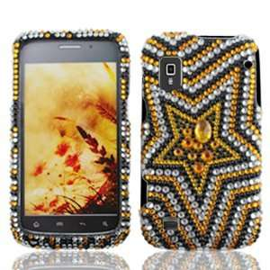 ZTE Warp N860 N 860 Cell Phone Full Crystals Diamonds