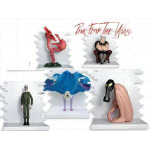 Pink Floyd The Wall Series 2 Action Figure Set Of 5 Toys