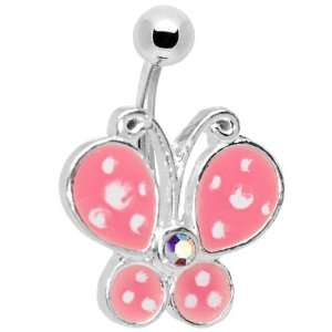 Precious Butterfly Belly Ring Jewelry