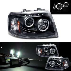 Eautolight 03 06 Ford Expedition Halo Projector Head Light