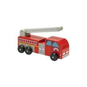 Wooden Fire Truck from Town Trucks Collection Toys & Games