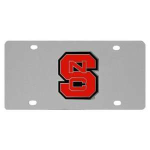 North Carolina State Wolfpack NCAA License/Logo Plate