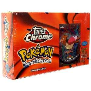 Topps Pokemon Trading Cards TV Animation Series 2 Booster