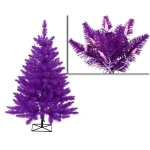 Pre Lit Purple Ashley Spruce Artificial Christmas Tree   Purple