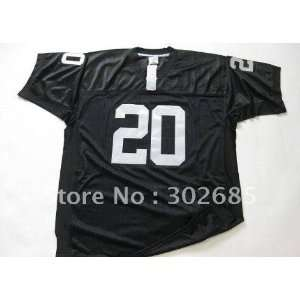 20 NFL Oakland Raiders Black Football Jersey Sz40