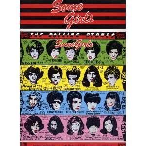 Some Girls. [Album of songs by the group  Rolling Stones