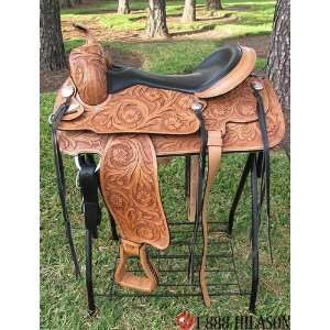 Flex Tree Orthopedic Western Trail/pleasure Saddle.