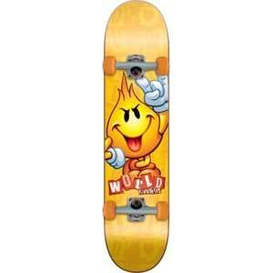 World Industries Flameboy Ransom Mid Complete Skateboard