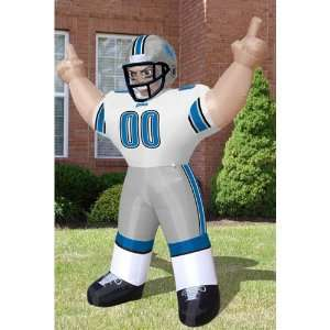 BSS   Detroit Lions NFL Inflatable Tiny Player Lawn Figure (96 Tall