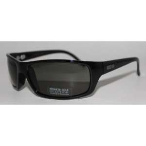 Kenneth Cole Reaction Sunglass Shiny Black / Solid Green