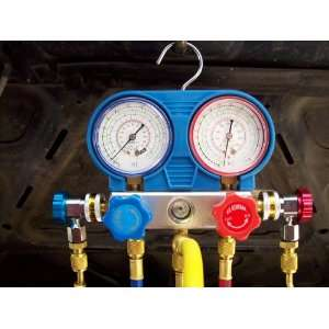 U.S. Genral A/C Manifold Gauge Set R134A Freon Automotive