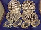 Antique Early American Pressed Glass 4 Dishes 4 Table S